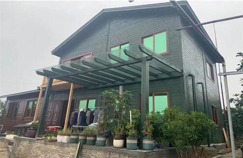 屯昌农场双层木屋